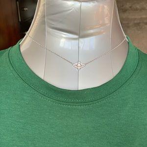 Kendra Scott silver necklace